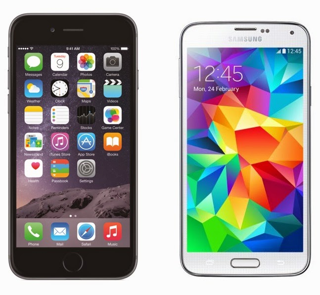iPhone 6 Plus vs. Samsung Galaxy S5