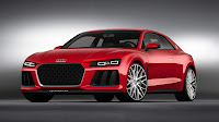 The Audi Sport quattro laserlight concept car front