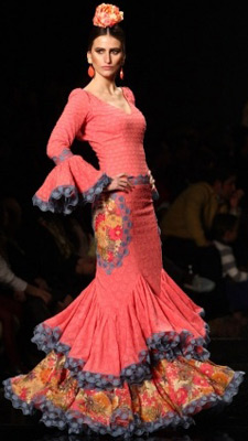 traje de flamenca Sonia e Isabelle Sonibel
