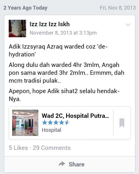 Wad 2C Hospital Putrajaya