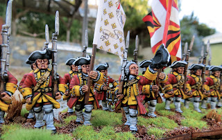 Seven Years War Swiss Eptingen Crusader Miniatures