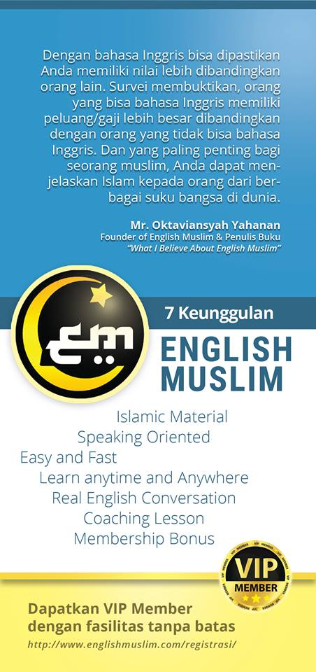 7 Keunggulan Metode English Muslim