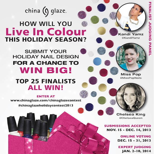China Glaze Live In Colour Holiday Contest!