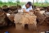 Hallan maquetas de pirámides mayas en Mérida
