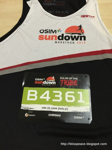 Sundown Half-Marathon 2015....