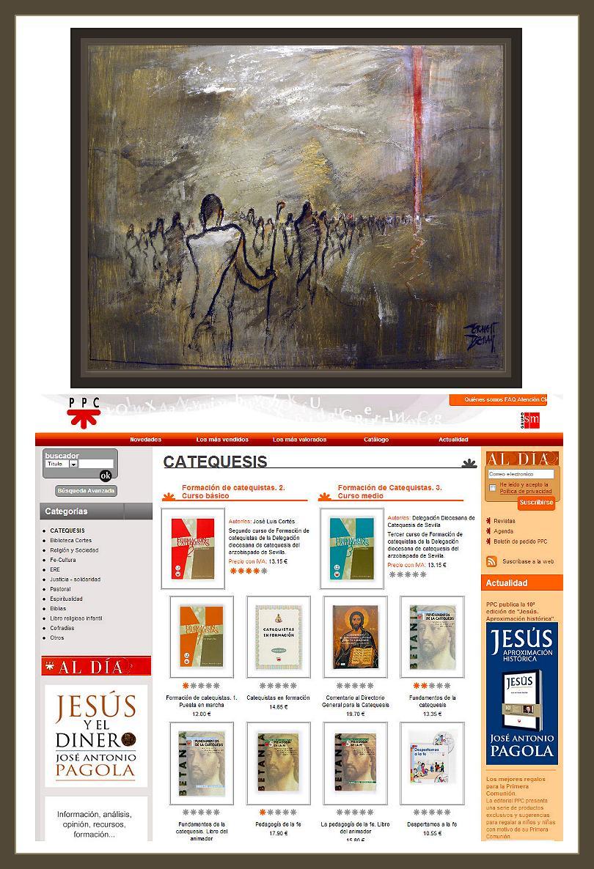 EXODO-PINTURAS-BIBLIA-EDITORIALES-LIBROS-EDUCACION-PRIMARIA-PINTOR-ERNEST DESCALS