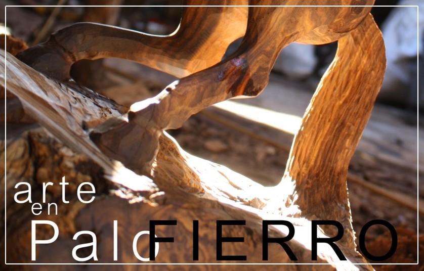Artesanía en Palo Fierro
