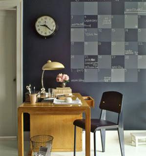 Martha Stewart  - Chalkboard Calendar