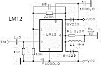 LM12 - High Power Amplifier circuit