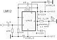 ta7230p ta7236p ta7237ap amplifier schematic electronic circuit rh elcircuit com Power Amplifier Circuit Diagram 2N3055 Amplifier Schematic