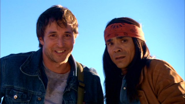 Noah Wyle and Zahn McClarnon