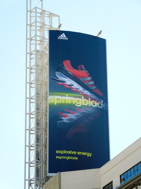 Adidas Springblade billboard