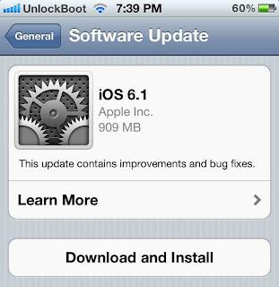 Apple Akhirnya Luncurkan Update iOS 6.1 untuk iPhone, iPad, & iPod