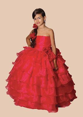 dama de honra vestido vermelho