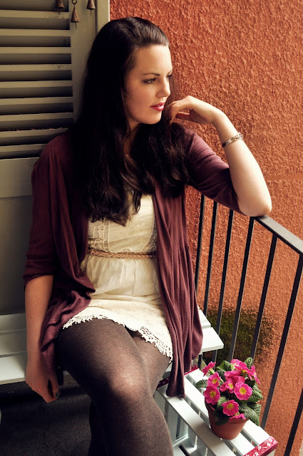 Layering & Lace, dress by LaRedoute // Outfit