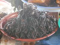 Foto 0 en  - Comer ara�as (Camboya) Gastronomia