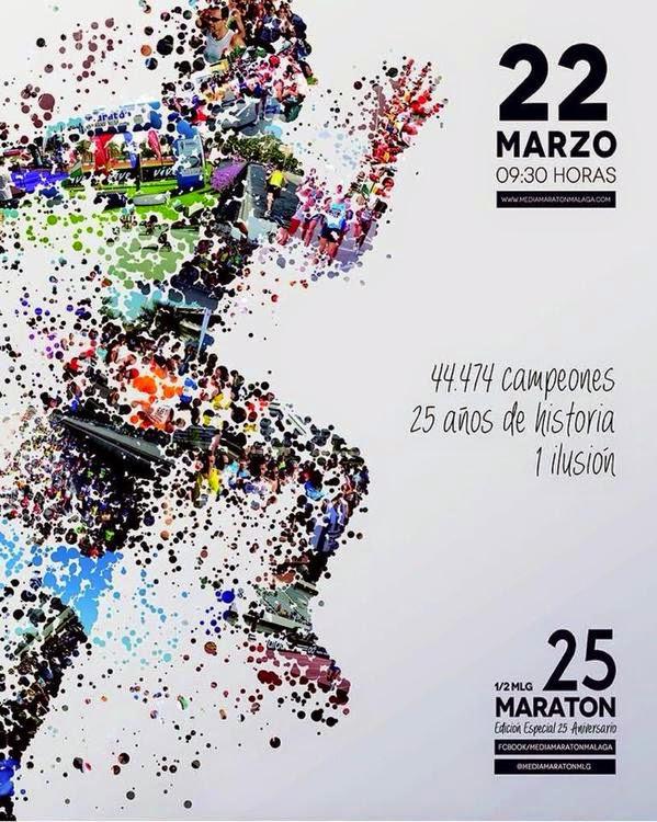 25 Media Maratón Málaga