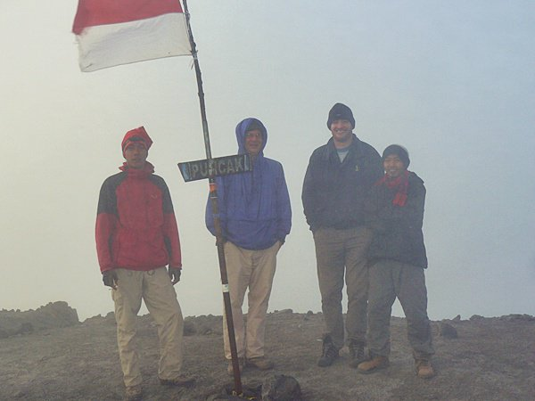 On top of Mahameru