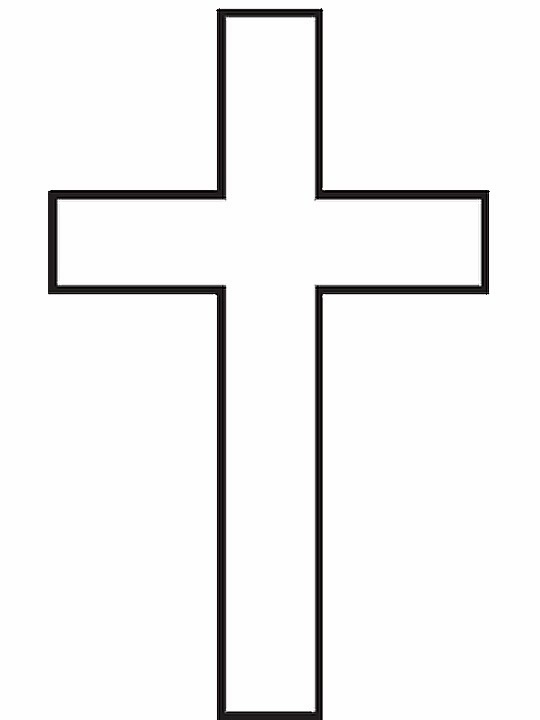 Blank Altar Coloring Page
