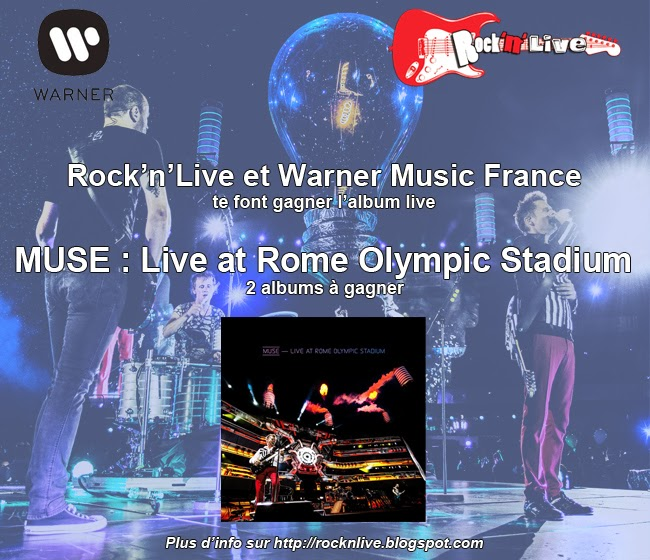 Muse Live at the Olympic Stadium Matt Bellamy Concours Stade de France Starlight