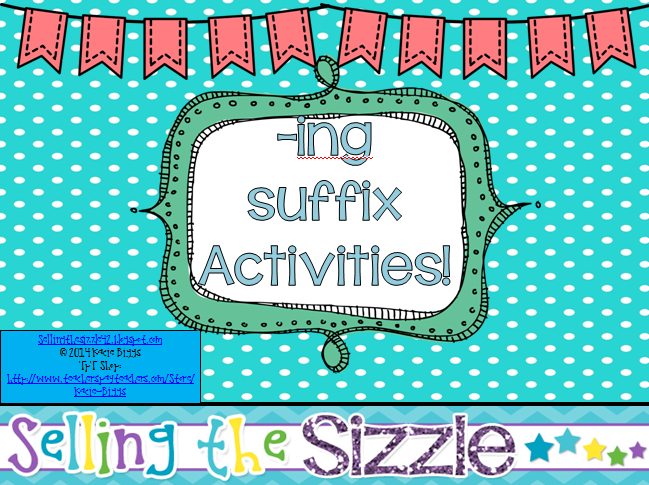http://www.teacherspayteachers.com/Product/-ing-Activities-1129360