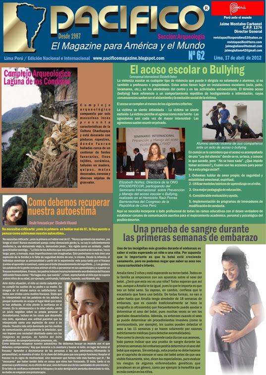 Revista Pacífico Nº 62 Arqueología