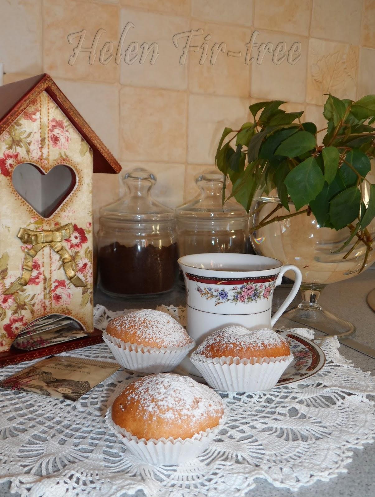 Helen Fir-tree декупаж чайный домик decoupage teahouse