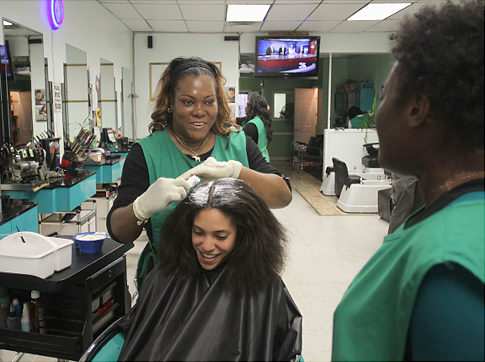 Brooklyn Salons get training, medical devices to help clients stay