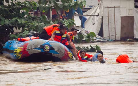 2 Warga Tewas Akibat Banjir Jakarta