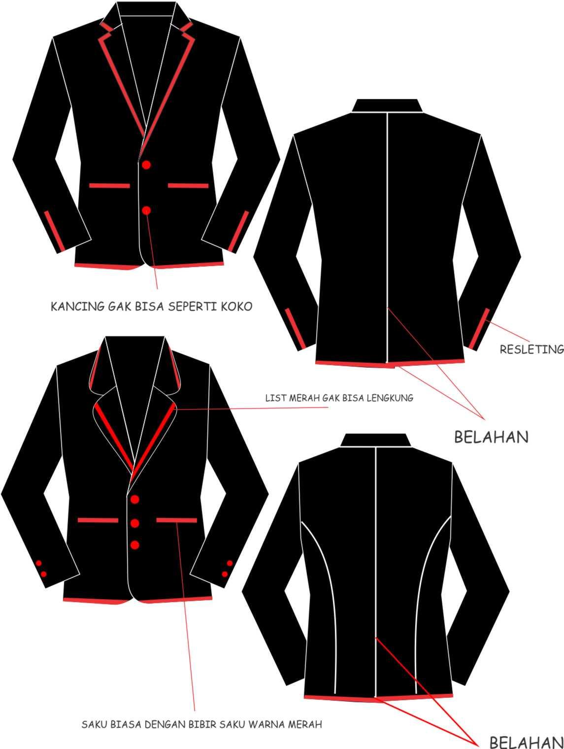 Desain Jaket Keren Desain Jaket Dibawah Ini Bisa