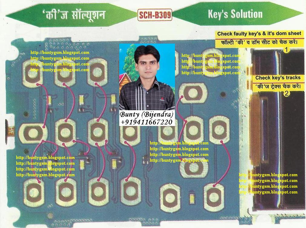 Samsung B309 Keypad Solution By Buntygsm Mobile Repairing
