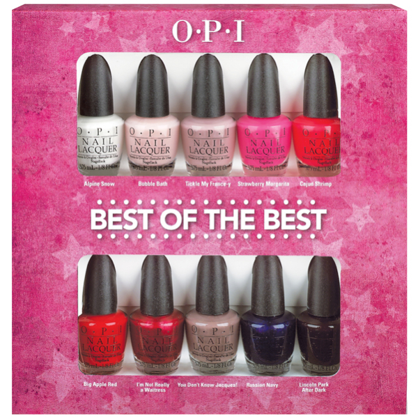 T3E... The Official Blog: OPI Best Of The Best Mini Nail Polish Set