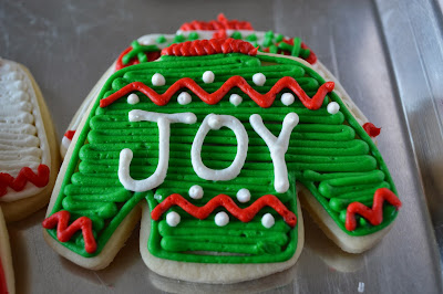 Tacky Sweater Cookies