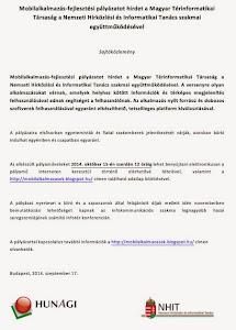 NHIT sajtóközlemény a pályázatról