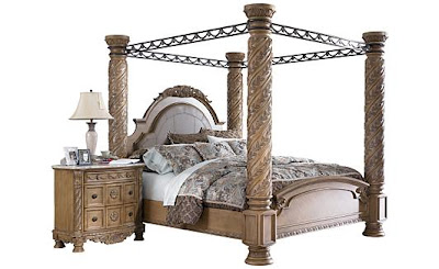 Ashley Furniture King Canopy Bed