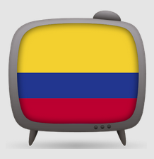 logo de Colombia TV App