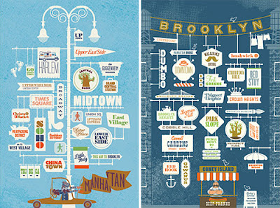Ilustración Brooklyn Manhattan Jin datz