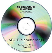 ABC Bible Verse Songs CD from No Greater Joy Ministries