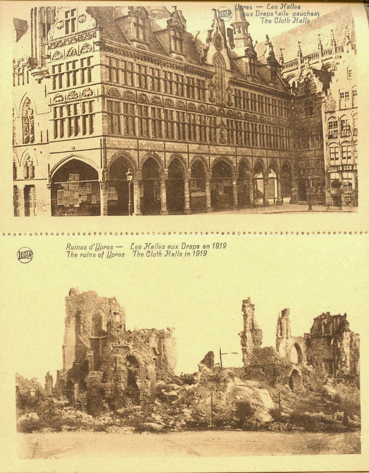 Histoires du nord 3 souvenirs ypres ville martyre de la for Piscine ypres photo