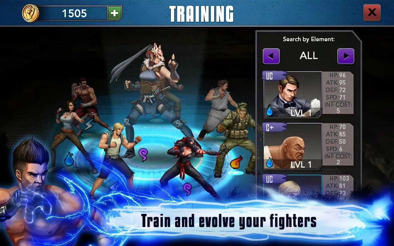 Screenshot Rage of the Immortals Android
