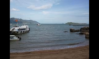 Boats in Nha Trang (Vietnam)