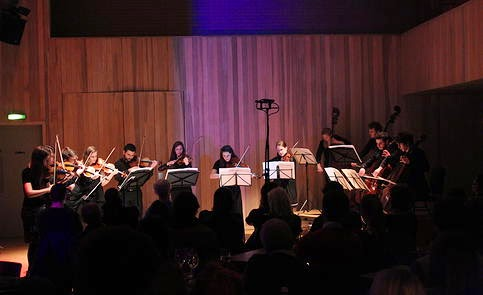 The 12 Ensemble at the Forge