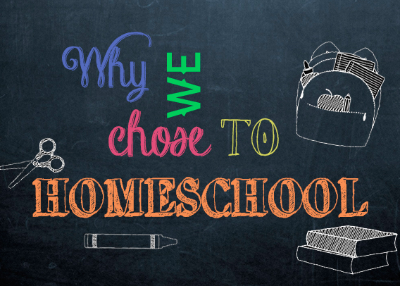 Why We Chose to Homeschool