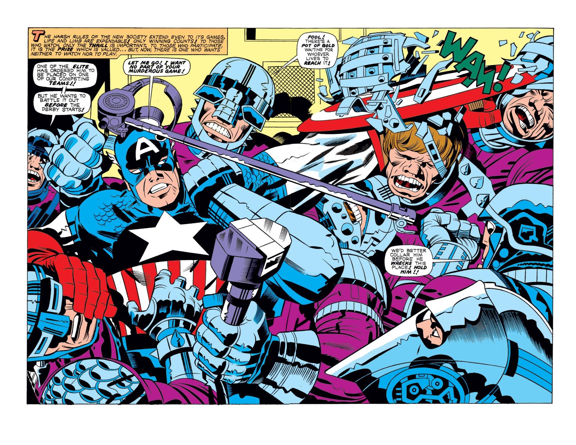 Captain America (1968) Issue #196 #110 - English 3