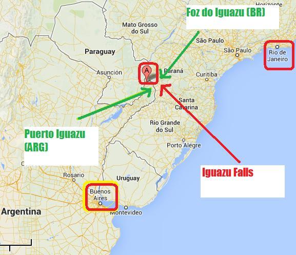 Practical tips to visit the Iguazu Falls Brasilian Side