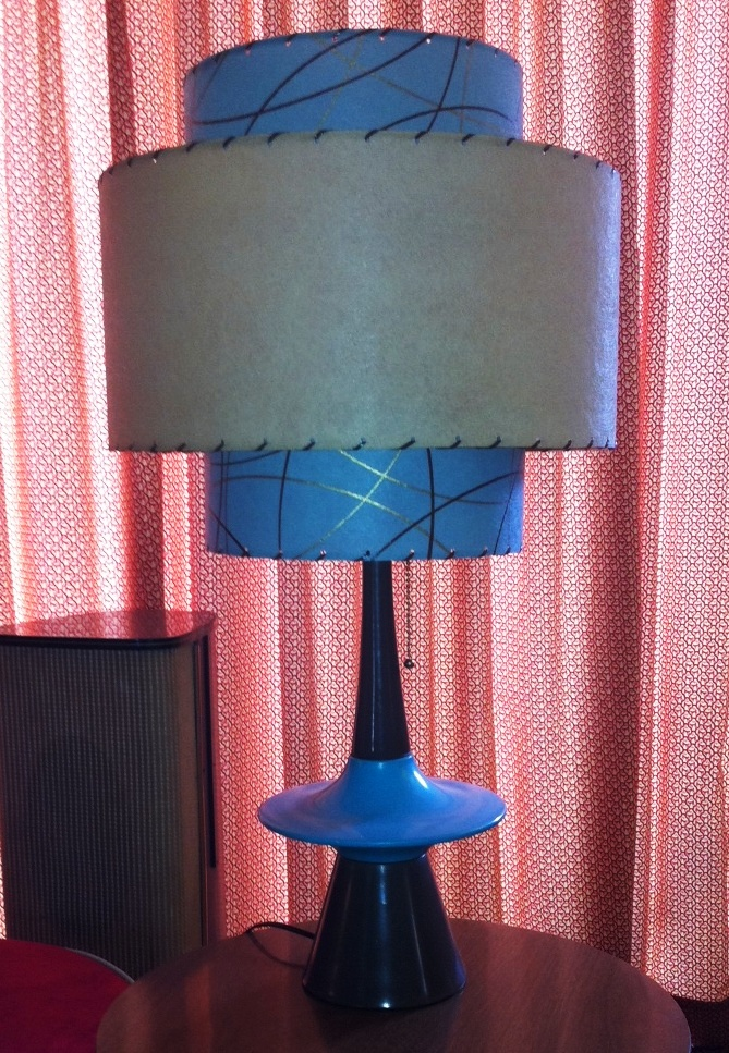 Pinky larue fashionably vintage lamp shades for vintage lamps sunday july 29 2012 aloadofball Gallery