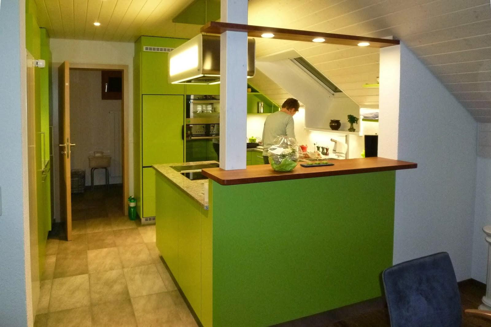 Fenster zwischen zwei räumen  Küchenblog: Vorher / Nachher