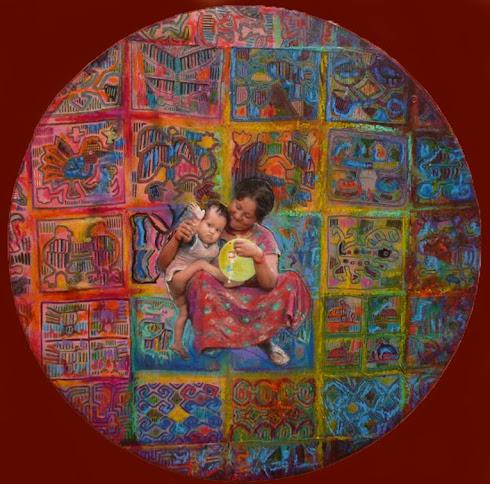 Niño Mariposa - Mandala