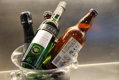 Vinos, cavas, cervezas japonesas, sake, en Japan Búnker. Blog Esteban Capdevila