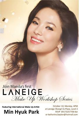 Laneige Make-Up Workshop Series with Min Hyun Park
